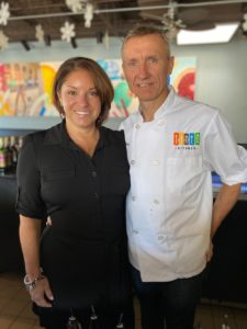 Tinto Kitchen's Rebecca Illingworth Penichot and Thierry Penichot