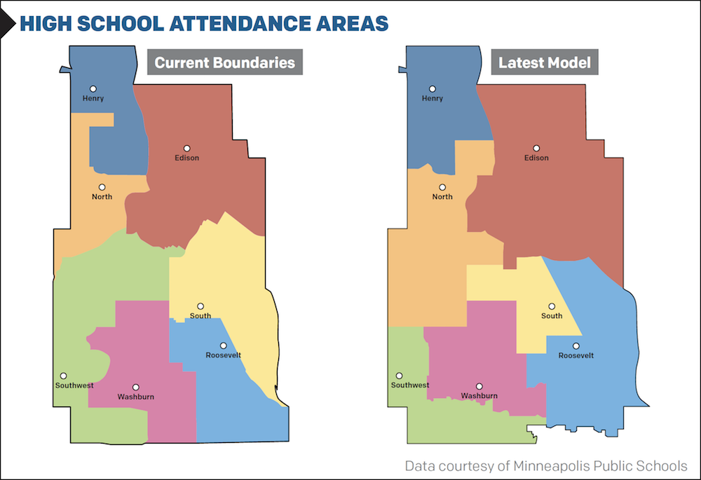 High School Attendance Areas