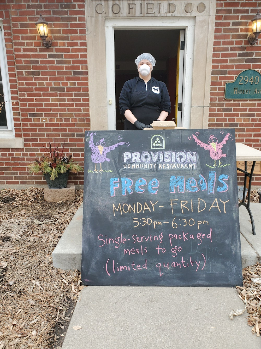 Provision Community Restaurant chef Heather Mady