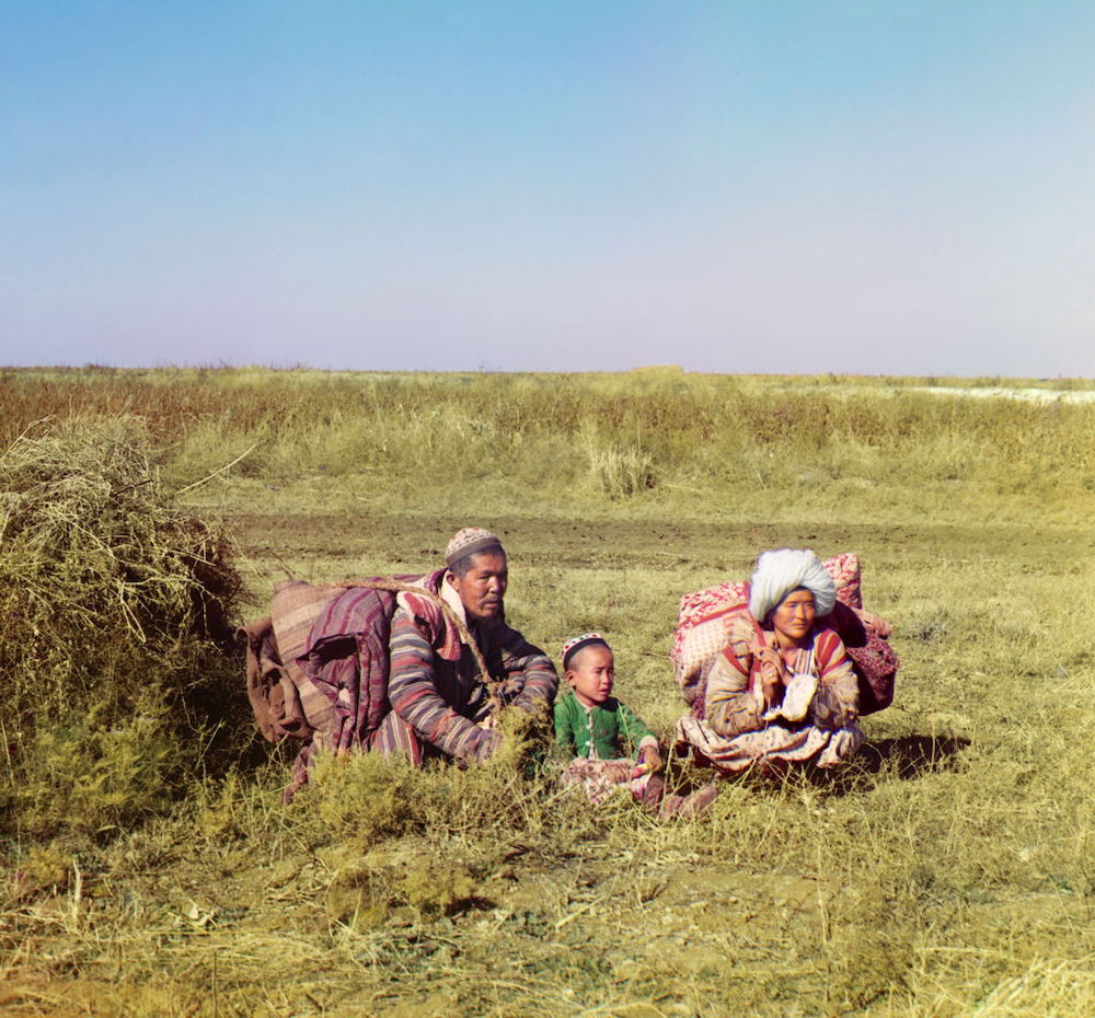 Photo of nomadic Kyrgyz