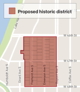 proposed historic district