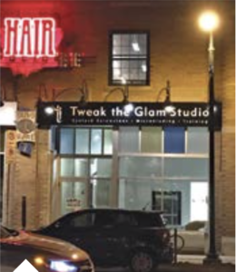 Tweak the Glam, a beauty boutique