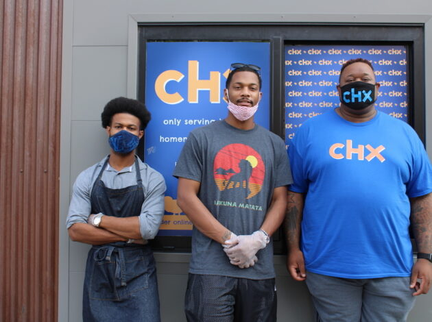 CHX owners Frederick Huballa, Shawn Edwards and Marques Johnson