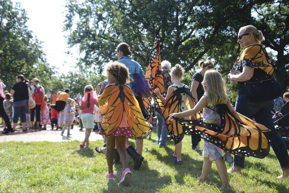Photo of the 2018 Monarch Festival.