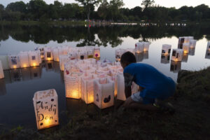 Lakewood Cemetery's annual Lantern Lighting Celebration