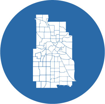 Minneapolis's Neighborhood and Community Relations department logo