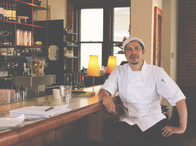 Chef Fernando Silva of The Harriet Brasserie
