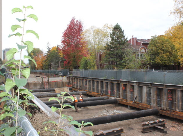 Tunnel work continues in the Kenilworth Corridor